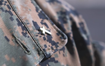 Wounded Warrior Bn. chaplain records online devotional to fill social distance gap