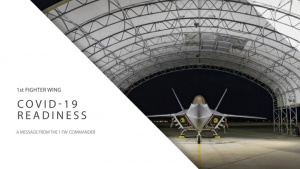 COVID-19 UPDATE: 1st Fighter Wings lethal edge