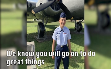Airman Lienau accepted to Air Force Academy Preparatory School