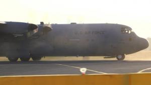 Yokota performs first-ever C130J assault landing on Foxtrot taxiway