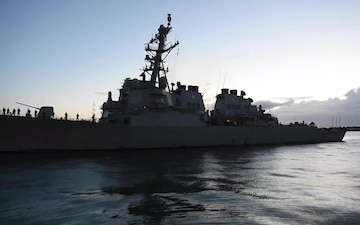 USS Carney (DDG 64) Returns from Deployment