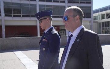 Ambassador Eric Rubin Visits USAFA