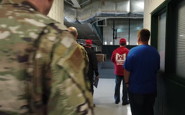 Arkansas National Guard engineers assess sites for possible medical surge operations