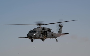 Rescue Squadron conducts training exercise, Qatar