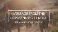 1st MLG Commanding General COVID-19 Message
