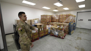 Ohioans Serving Ohioans: Ohio National Guard Helps at Food Bank