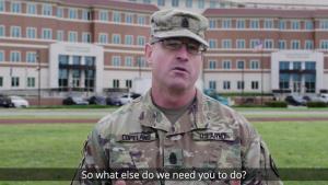 Cmd. Sgt. Maj. Ted Copeland COVID-19 Update