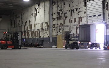 New York National Guard warehouse operations