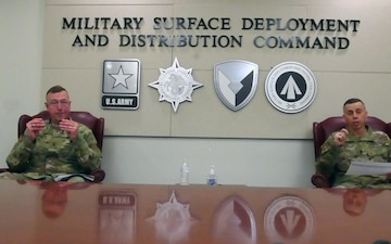 The Military Surface Deployment and Distribution Command Town Hall 31 March 2020