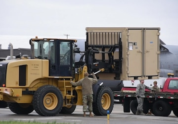 Disaster Relief Beddown System arrives back in Mansfield