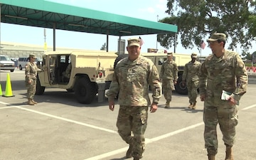 Florida National Guard Present Awards to Civilians