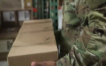 25th ID Military Logistics Specialists assist Tripler Army Medical Center with COVID-19 ops