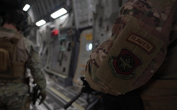 816th Expeditionary Airlift Squadron Conducts Cargo and Personnel Transportation Operations