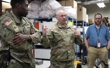 Delaware National Guard Supports Delaware Public Health Transporting COVID Tests