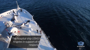 USNS Mercy Supports COVID-19 Response Efforts