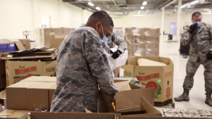 127th Wing Airmen COVID-19 Response at Forgotten Harvest