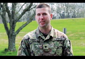 MDNG Soldier Spotlight: Spc. Ben Buckheit