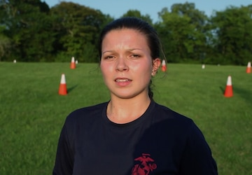 Recruiting Sub-Station Poolee Describes What Motivates Her