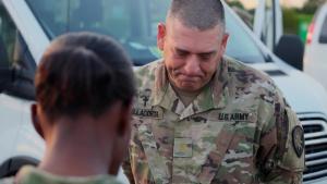 Florida Army National Guard Chaplain serving South Florida