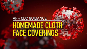 COVID-19 Coronavirus: Cloth Face Coverings Guidance PSA
