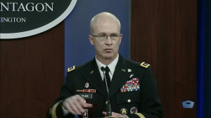 Military Health Officials Brief Media on COVID-19 Efforts