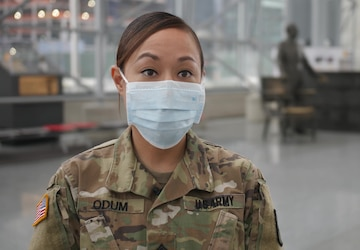 Army Sergeant Shares Experience From DoD COVID-19 Response