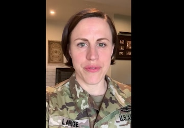 Sgt. 1st Class Carolyn Lange