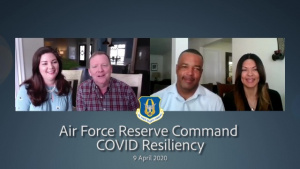 Air Force Reserve Command COVID Resiliency Message