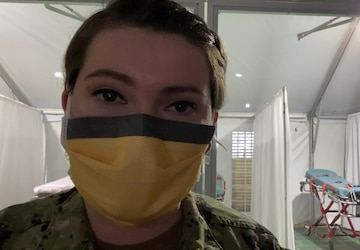 Video diary with Hospital Corpsman 3rd Class Allie Agudelo