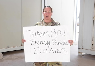 Master Sgt. Robertson Shout-Out to Healthcare Workers