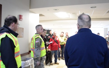 Army Corps of Engineers Assess Metro South Hospital for ACF
