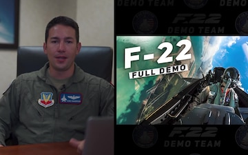 F-22 Pilot Breaks Down Maneuvers