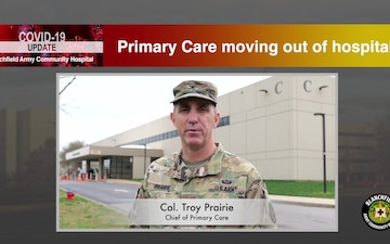 Primary Care shifts to Byrd and Screaming Eagle