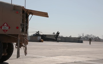 Refueling Operations with 834th Aviation Support Battalion broll