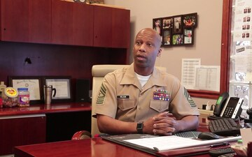 4th Marine Corps District Sgt. Maj. speaks on current recruiting environment