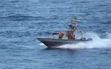 IRGCN Vessels Conduct Unsafe, Unprofessional Interaction with U.S. Naval Forces in Arabian Gulf
