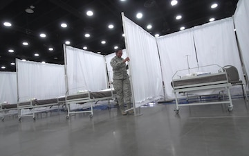 Kentucky Guard stands up Alternate Care Facility for COVID-19 patients