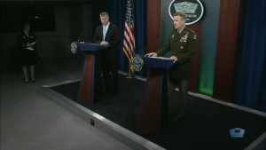 Top Army Officials Brief Media on COVID-19