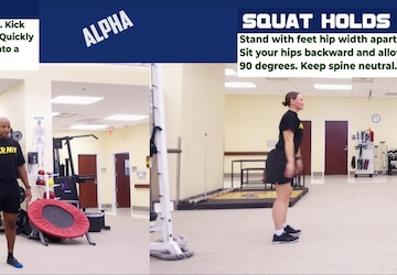 3rd ID Fitness Locked Down Workout Alpha