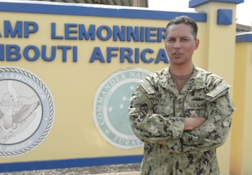 Month of the Military Child Shout Out - Lt. Cmdr. Carl Booth