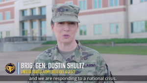 Army Reserve COVID-19 Update from Brig. Gen Dustin Shultz