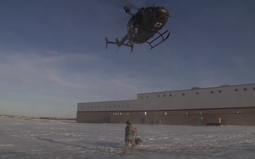 Hoist Training within the North Dakota National Guard