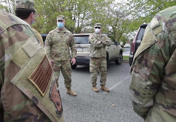 Pa. National Guard medical team arrives in Delaware County