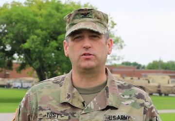 Col. Yost Shoutout