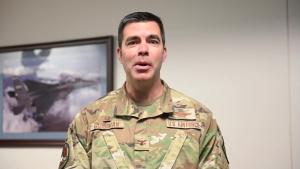 Col. Rick Goodman thank you video