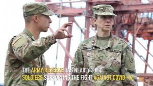 The Army Reserve sends Task Forces for COVID-19