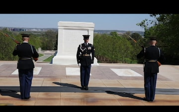 Tomb of the Unknown Soldier Changing of the Guard Broll 2