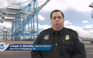 Joseph Martella, CBP Area Port Director for the Area Port of Philadelphia