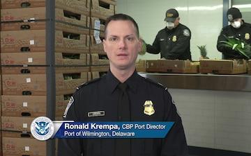 Ronald Krempa CBP Port Director for the Port of Wilimington
