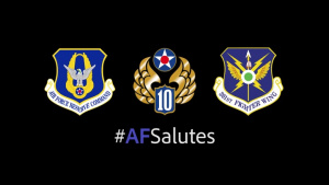 301 FW #AFSalutes essential workers